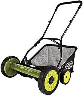 Snow Joe MJ501M 18-Inch Manual Reel Mower w/Grass Catcher