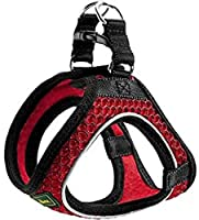 Easy to put on and take: your dog is placed on the harness and you close the velcro back With 3m scotchlite reflective elements: increase visibility Breathable mesh fabric: i made as large bee nest Very comfortable: soft, light and pleasing to the to...