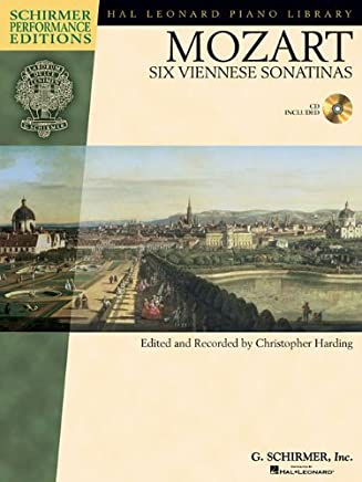 Mozart - Six Viennese Sonatinas: Piano (Hal Leonard Piano Library) Bk/Online Audio by Christopher Harding(2010-12-01)
