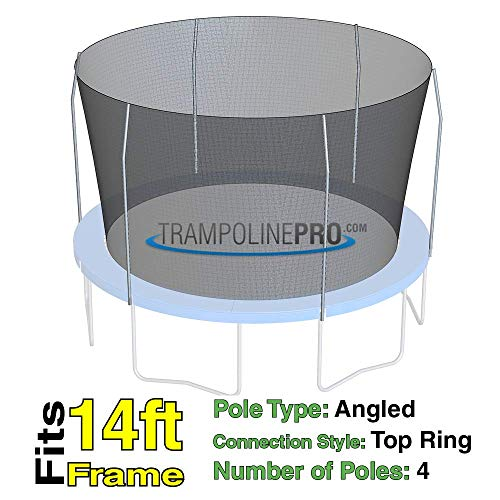 14 ft. Trampoline Net - 4 Pole G4