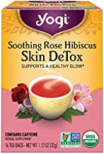 Yogi Tea, Soothing Rose Hibiscus - Skin DeTox, 16 Count