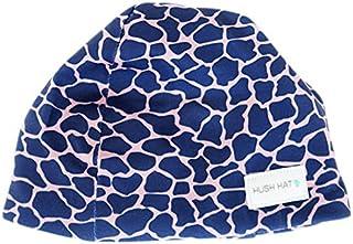 Hush Baby Hat with Softsound Technology and Medical Grade Sound Absorbing Foam, Giraffe, Blue, Medium