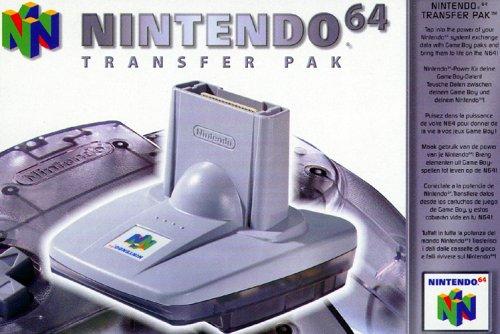 Nintendo 64 - Transfer Pak