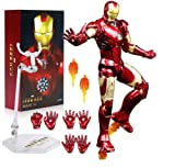 FIGLot ZD Toys Marvel Iron Man Mark 3 Mark III 7' Action Figure