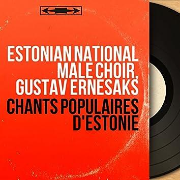 Chants populaires d'Estonie (Mono Version)
