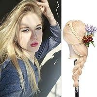 13x4ブロンドストレート人間の髪の毛のかつら613赤ちゃんの髪のレースフロントかつら130%密度9aグレードショートボブかつら女性の自然なヘアライン10インチ