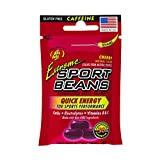 Jelly Belly Extreme Sport Beans, Caffeinated Jelly Beans, Cherry Flavor, 24 Pack, 1-oz Eac...