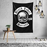 Black Label Society Tapestry Wall Hanging Bedding Tapestry 3D Printed Art Tapestry Home Decor 60'x40'
