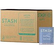 Stash Tea Earl Grey Black Tea, Box of 100 Tea Bags (Packaging May Vary)