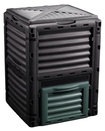 Komposter Gartenkomposter 300l Thermo Kompostbehälter Kompostierer Gartenabfallbehälter