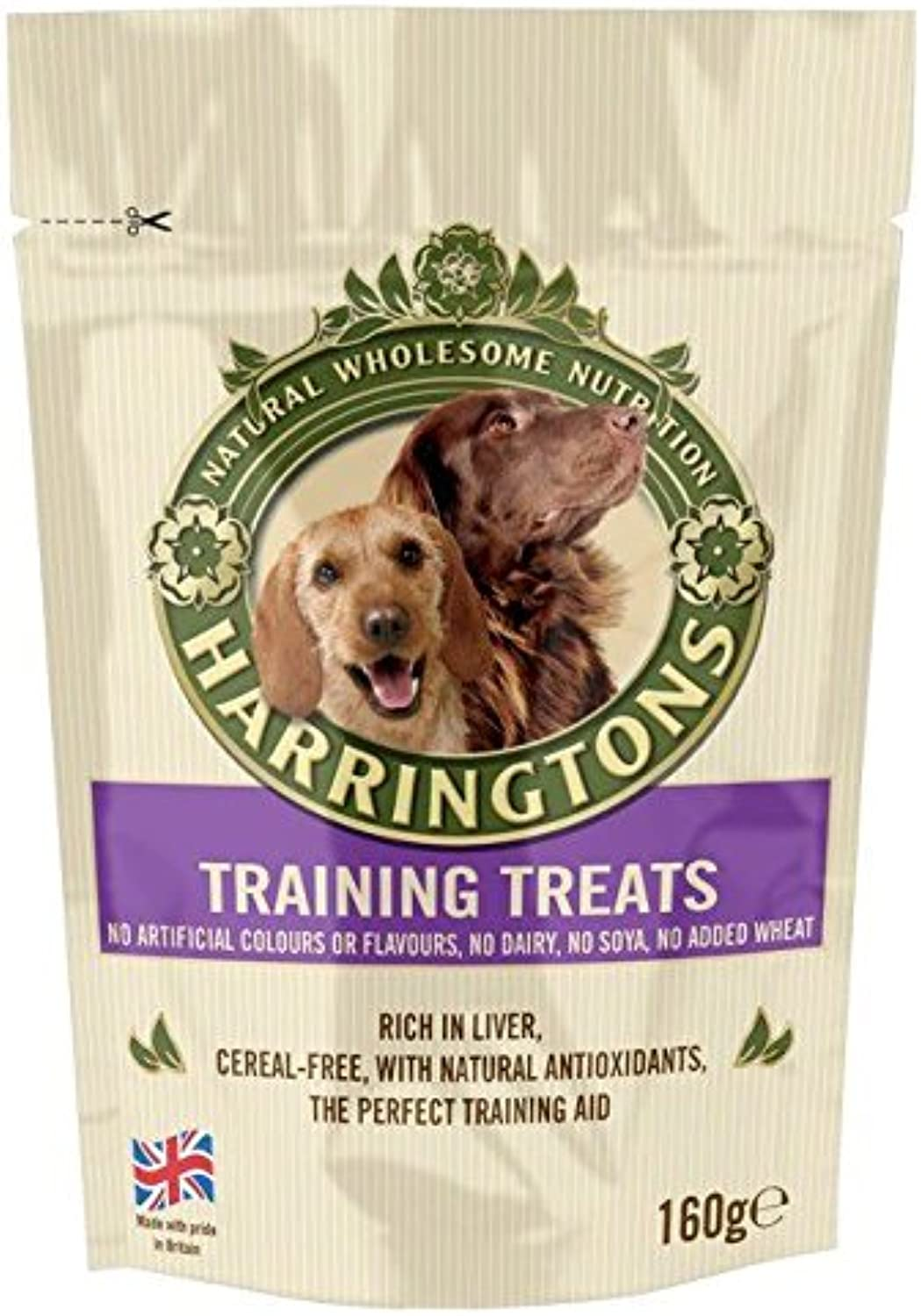 Harringtons Training Treats Rich in Liver 160g (PACK OF 4)