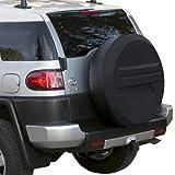 LREFON Repuesto Cubierta de neumático 14'-17' Rígido Cubierta Ligera para Autos de Repuesto