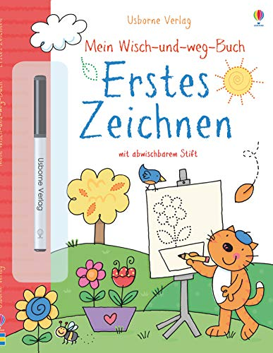 Mein Wisch-und-weg-Buch: Erstes Zeichnen: mit abwischbarem Stift