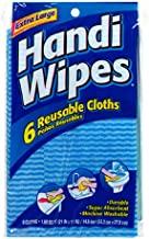 Handi Wipes Double Facing Wipes, 6-Count Packages, (144 Wipes) (Pack of 24) (Colors May Vary)