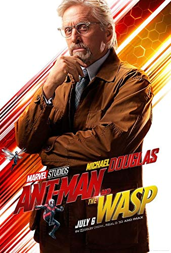 """Empire Merchandising GmbH - Poster """"Ant Man and the WASP - Hank Pym - U.S Movie Wall Print - 30 x 43 cm"""