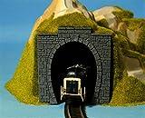 NOCH 60010 - Spielwaren, Tunnel-Portal, 1-gleisig, 11 x 11 cm -