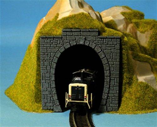 NOCH 60010 - Spielwaren, Tunnel-Portal, 1-gleisig, 11 x 11 cm