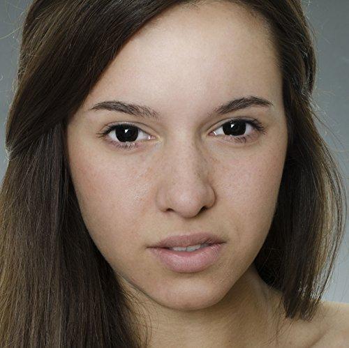 Farbige Kontaktlinsen von EYE EFFECT (Schwarz)