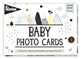 Over the Moon Baby Keepsake Cards by Milestone - Newborn's First Year Memories