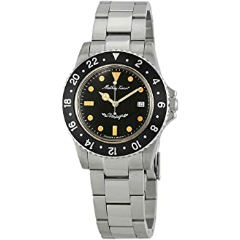 Mathey-Tissot Mathey Vintage Quartz Black Dial Men's Watch H900AN