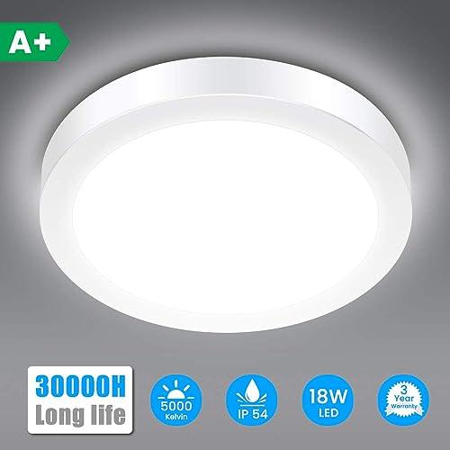 LED Wet Room Lamp 1-Burner 120cm Bath Lamp 18w LED Tube Cellar Lamp