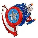 Tables Capitan America Shield Launcher Pistola Giocattolo Scudo Esplosivo Non Include Maschera Regalo di Compleanno per Bambini Decorazione Costume di Halloween