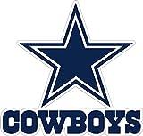Dallas Star Stickers Team Colors (4 Size) Dallas Cowboy Logo Decal Vinyl for car bamper, hemlet, Laptop, tumblers (3')