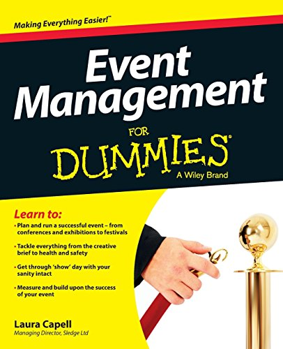 Event Management For Dummies.