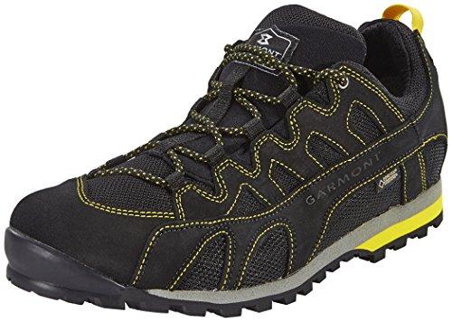 GARMONT Mystic Flow Surround Chaussures de Sport pour Homme - Noir - Noir/Jaune, 45 EU EU