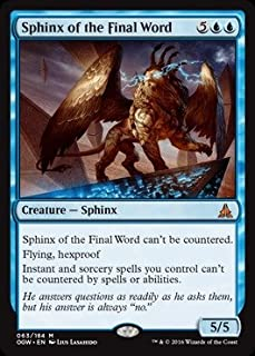 Magic: the Gathering - Sphinx of the Final Word (063/184) - Oath of the Gatewatch