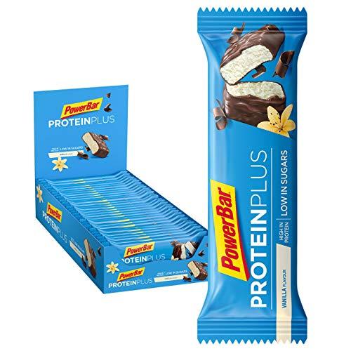 Protein Plus Bar Low Sugar, Vanilla - 30 x 35g