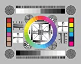 DGK Color Tools DGK-CSD Set of 3 High Resolution 8' by 11' Chrome SD Professional Lens Test Chart for Lens Testing - Calibration - Resolution and Color Calibration for Digital Photo and Video