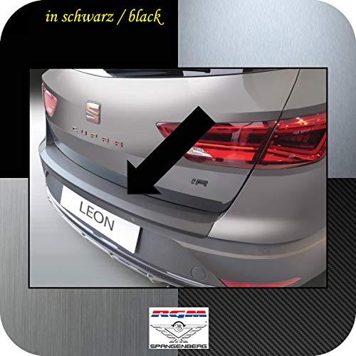 Richard Grant Mouldings Ltd. Original RGM Passform Ladekantenschutz ABS schwarz passend für Seat Leon ST Kombi auch X-Perience und Cubra Facelift ab Baujahr 10.2016- RBP192