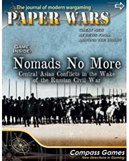CPS: Paper Wars Magazine #86, with Nomads No More Board Game