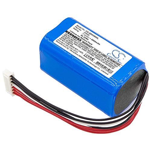 YINHUAN 6800mAh / 50.32Wh 7.4V batería del Altavoz para SRS-X30, SRS-XB3 (Color : Azul, tamaño : 67.94 x 37.58 x 37.02mm)