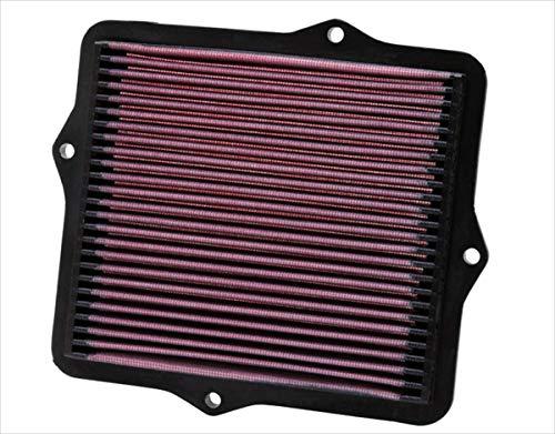 K&N 33-2047 Filtre à Air du Moteur: Haute Performance, Premium, Lavable, Filtre de Remplacement, Plus de Pouvoir, 1991-2001 (Civic IV, V, VI, CX, DX, DX Hatchback, EX, LX, Si, VX, del Sol, CRX III, Civic Coupe)