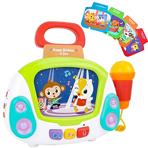 BUBHFYT Musical Toy for Girls 1 2 3 4 5 year old , Karaoke Machines Music...