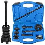 WISPAUSU Wheel Bearing Removal and Installation Tool Kit Compatible with Harley Davidson, VT102 Wheel Bearing Puller Remover & Installer