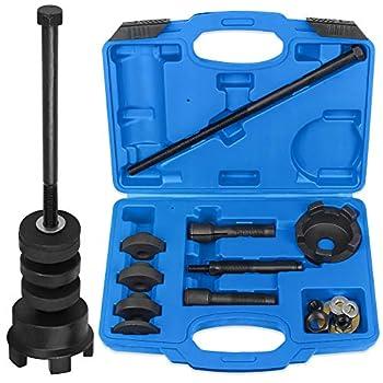 WISPAUSU Wheel Bearing Puller Installer Tool Kit Compatible with Harley Davidson 0.75  1  25mm Bearings VT102 Wheel Bearing Remover Installation Tool