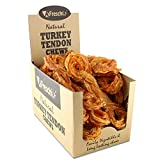 AFreschi Turkey Tendon for Dogs, Premium All-Natural, Hypoallergenic,...