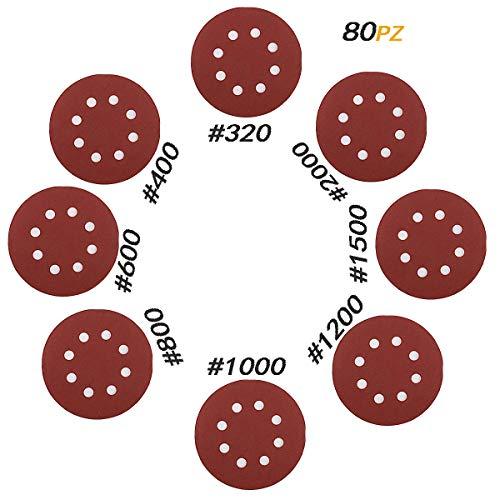80pz Dischi Abrasivi