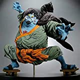 HZWL Action Figure One Piece Anime Carattere Overhead Guerra Jinbe Battle Collection Collezione da Collezione Decorazione Statua Decorazione Animazione Carattere
