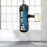 Super Pro Unisex– Erwachsene Water-Air Boxsack, schwarz, 100 cm