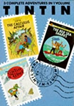 Tintin 3 Complette Vol.6 (Tintin three-in-one volumes)(v. 6)