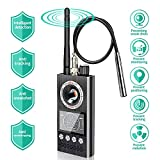 HIMU Wanzenfinder mit Kamera chip Reflektor Wanzensuchgerät Wireless Tap Detector Spionfinder Anti Funkkamera Spy Cam Camera Kamera RF Detektor Bug Detektor,2020 Professional Version