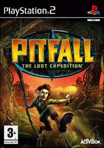 Activision Pitfall: the lost expedition, PS2, ITA