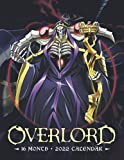 Overlord Calendar 2022: 16-month mini Calendar from Sep 2021 to Dec 2022 for all fans