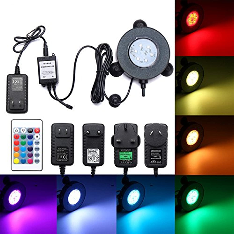 QIZIANG Aquarium RGB RGB RGB 6 LED Bubble Light Unterwasserfernbedienung Hot (Farbe   EU Plug) B07MN2G9QX  | Flagship-Store  6a0d36