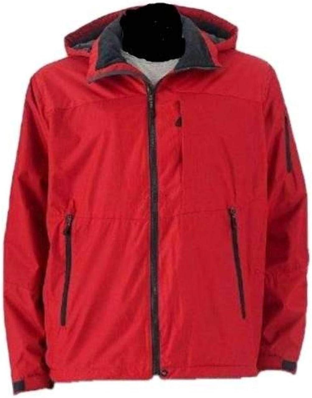 Hemisphere Men's Fleece Lined Water Resistant Hooded Winter Down Jacket