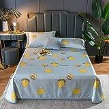 KIKIGO Estera De Verano Estera De Seda,Three-Piece Summer Mat, Single Bed Set, foldable-A04